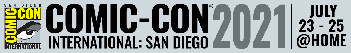 Comic-Con International: San Diego 2021 Banner