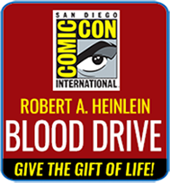 Robert A. Heinlein Blood Drive