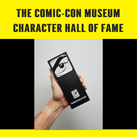 The Comic-Con Museum Character Hall of Fame