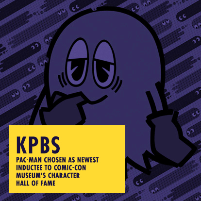 KPBS - Pac-Man Chosen as newest Inductee to Comic-Con Museum's Character Hall of Fame