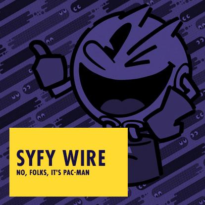 SYFY WIRE - No, folks, it's Pac-Man