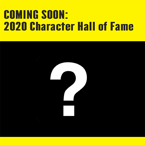 Character Hall of Fame coming soon, question mark icon