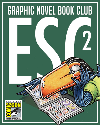 Comic-Con Graphic Novel Book Clubs: Escondido 2