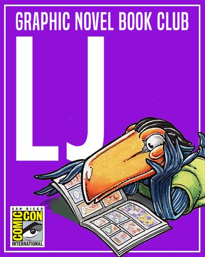 Comic-Con Graphic Novel Book Clubs: La Jolla