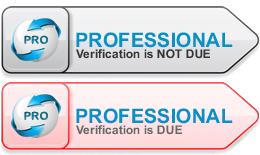 Professional Verification Status