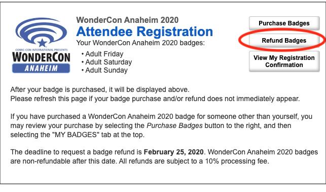 WonderCon Anaheim 2020