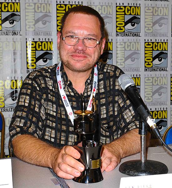 Comic-Con 2013 Inkpot Award winner Martin Pasko