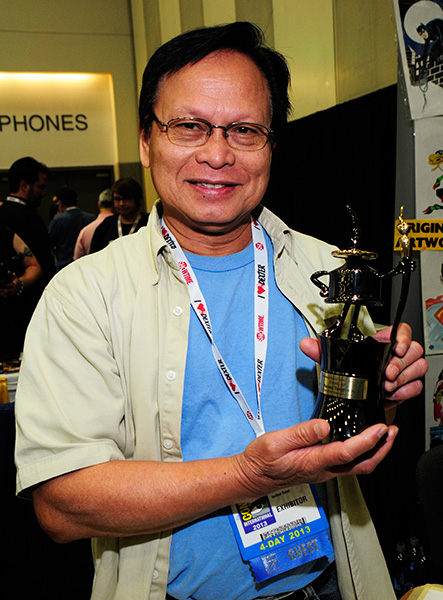 Comic-Con 2013 Inkpot Award winner Romeo Tanghal