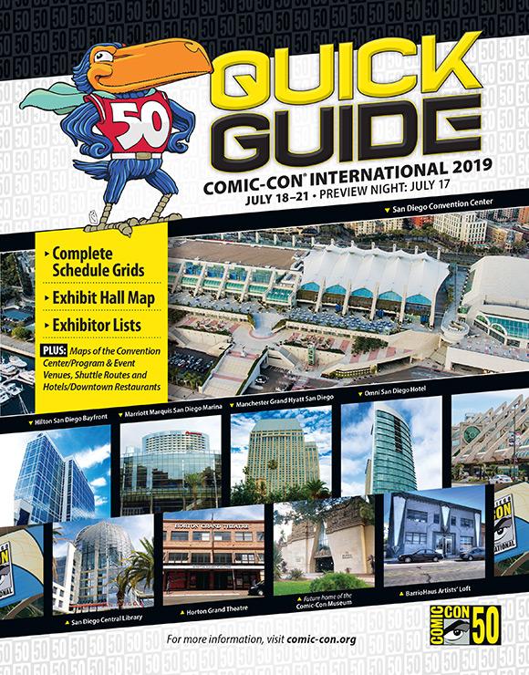 Comic-Con 2019 Quick Guide