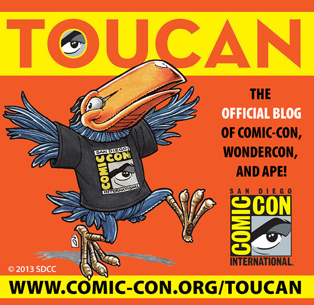 Toucan 2013 Collectible Button