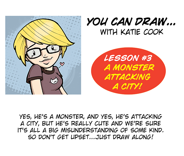 You Can Draw with Katie Cook