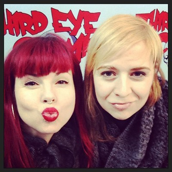 Kelly Sue DeConnick and Emma Rios