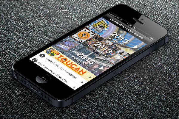 Comic-Con iPhone App