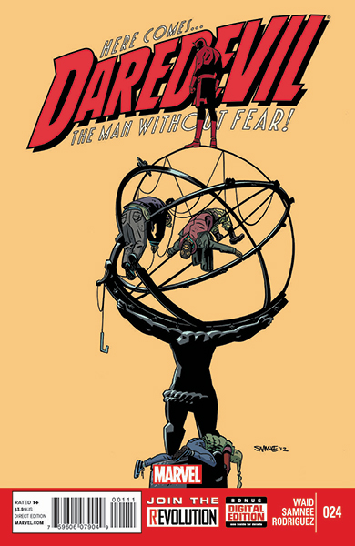 Chris's Daredevil Atlas cover  (#24)