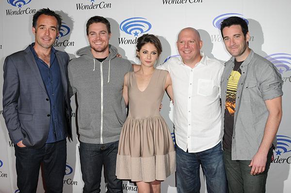 Arrow Cast at WonderCon Anaheim