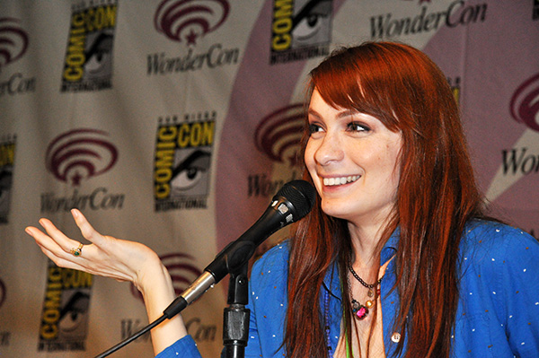 Felicia Day at WonderCon Anaheim