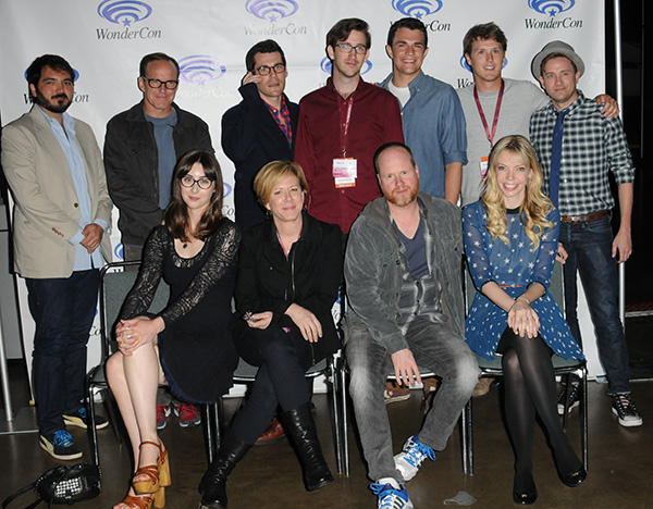Much Ado About Nothing Cast at WonderCon Anaheim