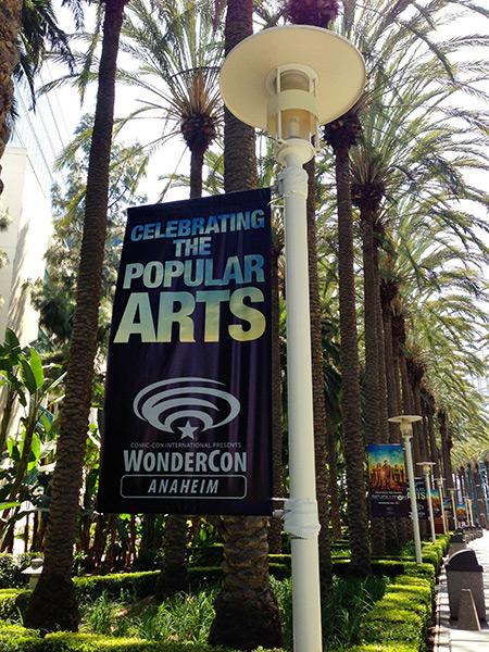 WonderCon Anaheim Banner