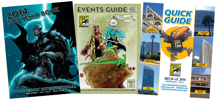 Comic-Con International 2014 Publications