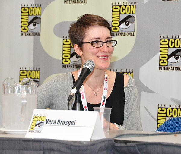 Vera Brosgol at Comic-Con International 2013