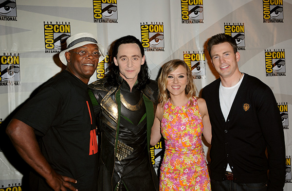 Marvel stars at Comic-Con International 2013