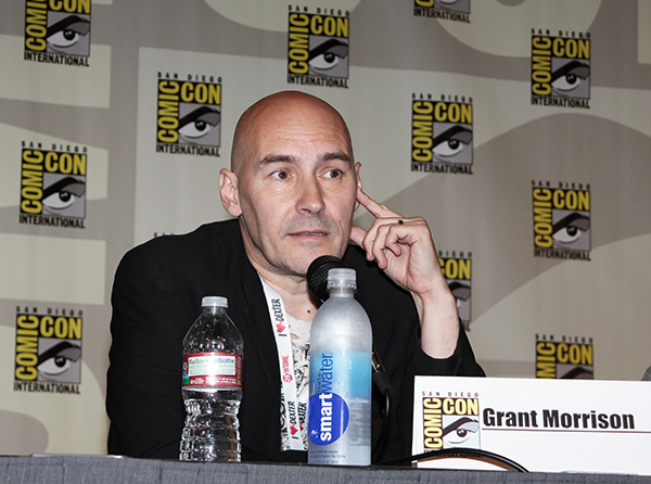 Grant Morrison at Comic-Con International 2013