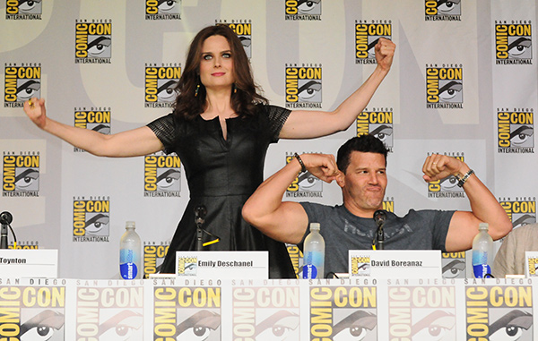Bones panel at Comic-Con International 2013