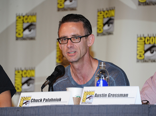 Chuck Palahniuk at Comic-Con International 2013