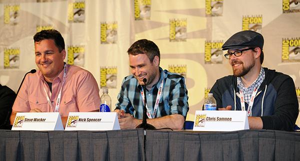 Marvel Comics panel at Comic-Con International 2013