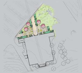 Entry Plaza blueprint