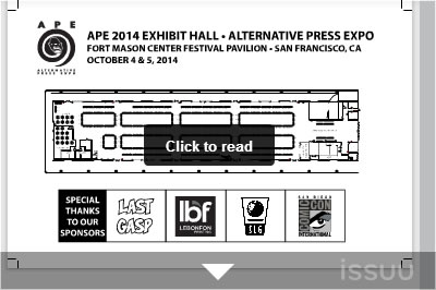 click to zoom in on the Exhibit Hall on Issuu