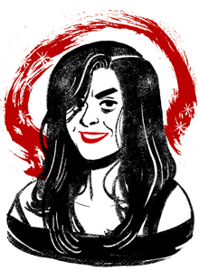 Emily Carroll at Comic-Con International 2016