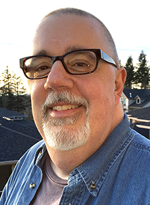 Kurt Busiek at Comic-Con 2019, July 18-21 at the San Diego Comic Convention