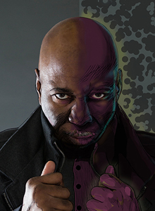Arvell Jones at Comic-Con 2019, July 18-21 at the San Diego Convention Center