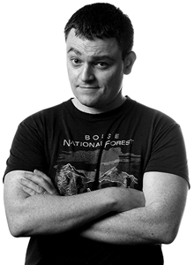 Scott Snyder at Comic-Con 2019, July 18-21 at the San Diego Convention Center