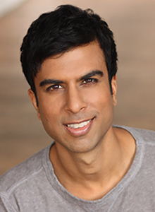 Soman Chainani at Comic-Con 2020, July 23–26 at the San Diego Convention Center