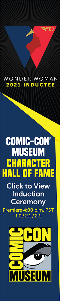 Museum Character Hall of Fame 2021 Inductee: Wonder Woman