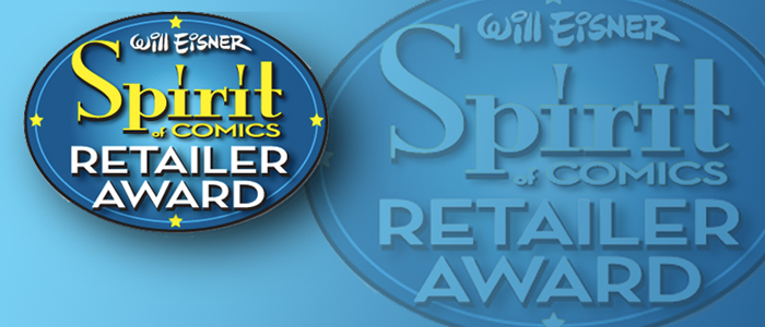 2015 Will Eisner Spirit of Comics Retailer Award Finalists