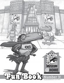 Comic-Con Museum Fun Book Number 3
