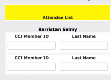 Comic-Con Returning Registration