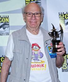 Comic-Con 2013 Inkpot Award winner Gene Deitch