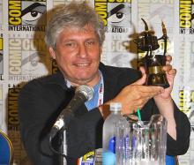 Comic-Con 2013 Inkpot Award winner Elliot S! Maggin