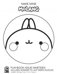 Comic-Con Museum@Home Fun Book #19: Make Mine Molang