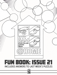 Comic-Con Museum@Home Fun Book #21: SAM@Home