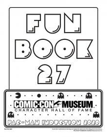 Comic-Con Museum@Home Fun Book #27: PAC-MAN