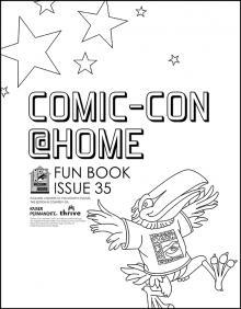Comic-Con Museum@Home Fun Book #35: Comic-Con@Home 2021