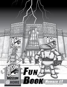 Comic-Con Museum@Home Fun Book #6