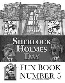 Comic-Con Museum@Home Fun Book #5