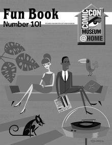 Comic-Con Museum Presents Fun Book Number 10