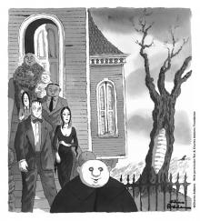 Charles Addams, Will Eisner Hall of Fame 2018 Nominee